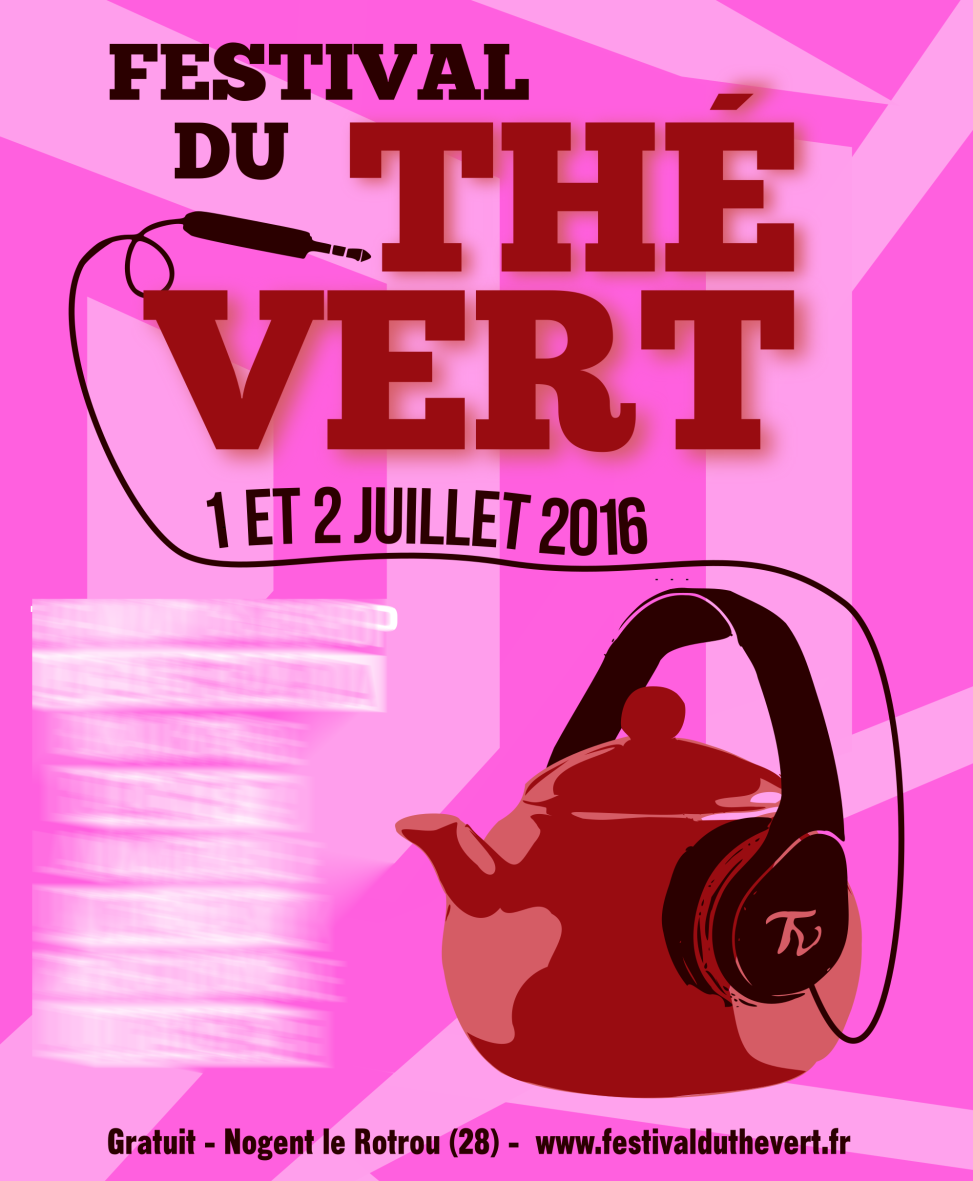 Festival du Thé Vert 2016 - Proposition pour affiche 2