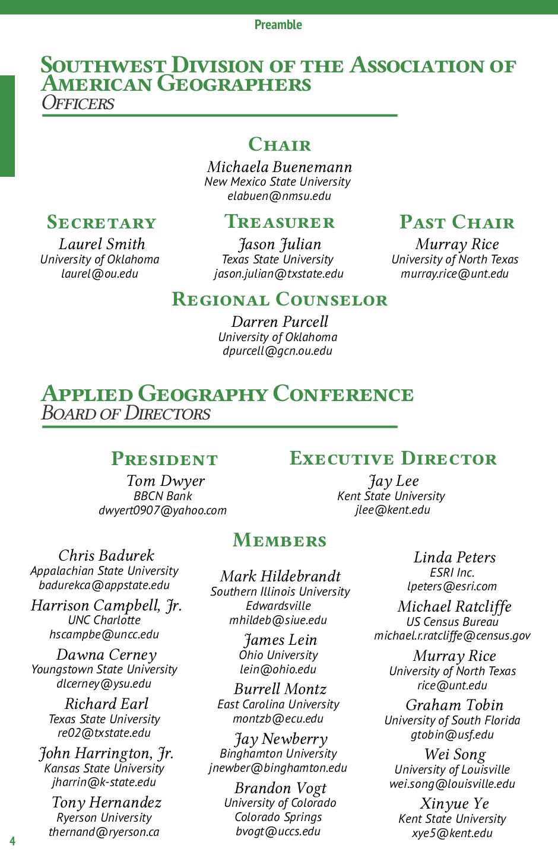 Programme de la conference SWAAG/AGC 2015 - Présentation