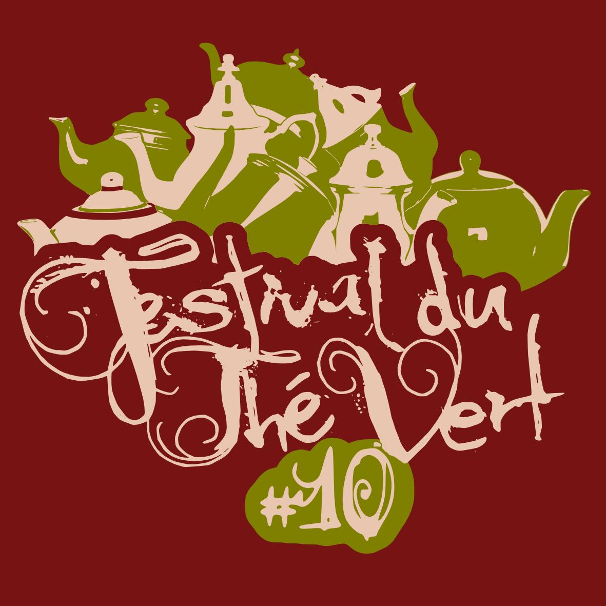 Festival du Thé Vert 2014 - T-Shirt avant