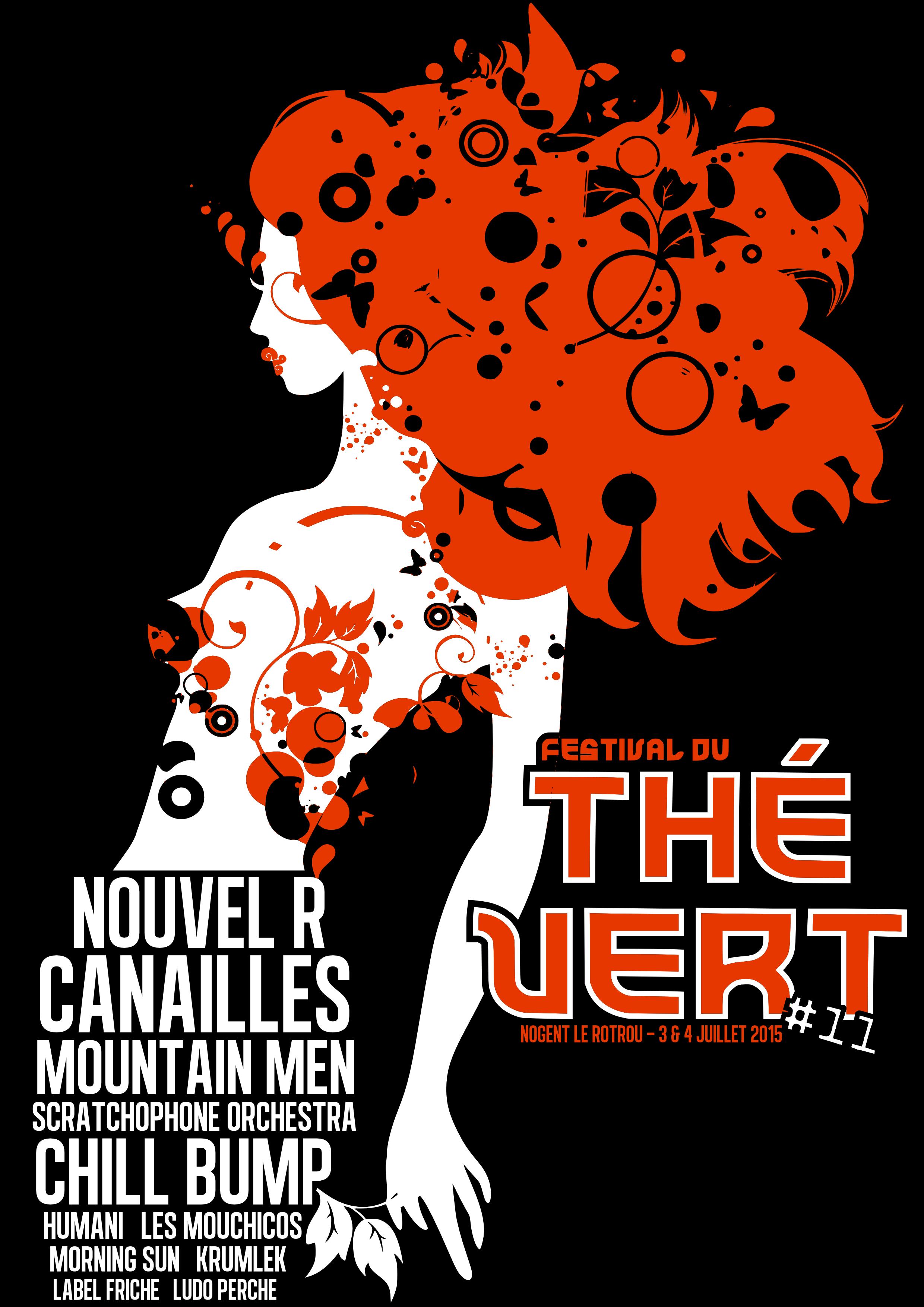 Festival du Thé Vert 2015 - T-Shirt arrière